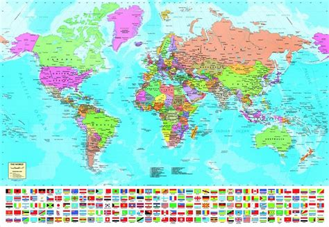 map world puzzle jigsaw puzzles 1500 pieces quot the world map quot educa ebay