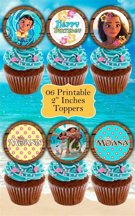 Topper Moana 01 moana decor kit moana labels moana toppers moana food tents moana birthday moana