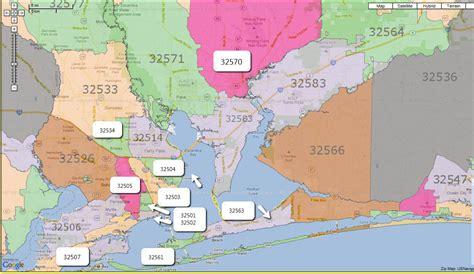 Zip Code Map Pensacola Fl | love to live in pensacola florida zip codes pensacola