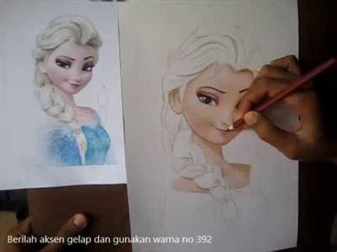 tutorial menggambar frozen cara menggambar animasi frozen untuk pemula youtube