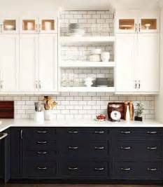 Teal Kitchen Ideas stylish two tone kitchen cabinets for your inspiration