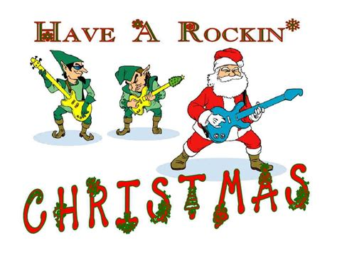 custom made t shirt have rockin christmas santa elves