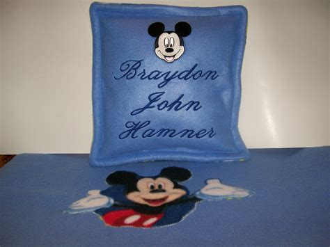 mickey mouse pillow and blanket set mickey mouse blanket set