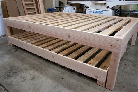 queen bed with trundle underneath trundle beds lignicity
