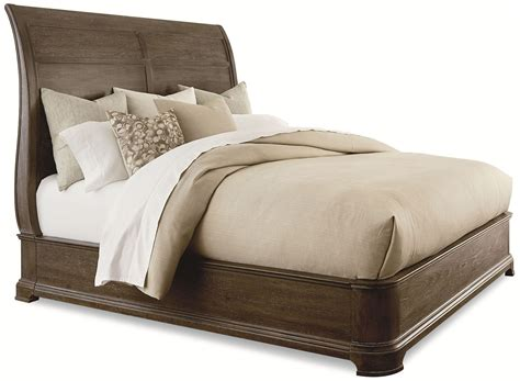 platform sleigh bed st germain queen platform sleigh bed from art coleman