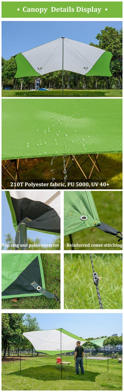 Canopy C Nh16t012 S M Naturehike naturehike hexagon sunshade canopy uv 40 waterproof tent awning shade sale banggood