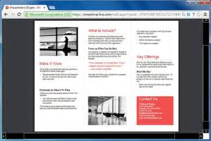 brochure templates for powerpoint how to make printable brochures in powerpoint