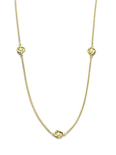 david yurman 18k yellow gold chain necklace in