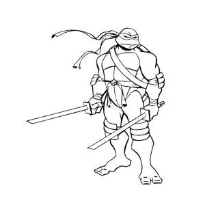 leuk voor kids teenage mutant ninja turtles kleurplaten