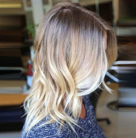 To Light Ombre by Medium Brown Light Cool Brown Platinum