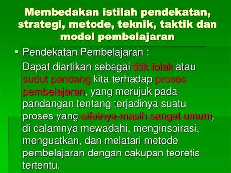 Strategi Dan Teknik Negosiasi ppt metoda pembelajaran powerpoint presentation id 1813242