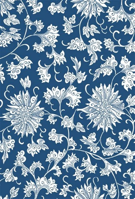 china blue pattern vector free vintage chinese flower pattern vector titanui