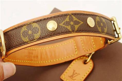 loui vuitton collar louis vuitton collier baxter mm monogram authentic collar 1122