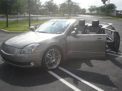 convertible nissan maxima nissan maxima convertible with doors