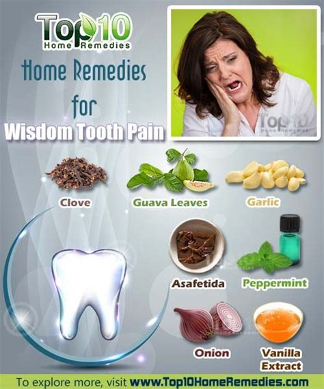 home remedies for wisdom tooth top 10 home remedies