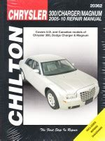 motor auto repair manual 2005 dodge magnum spare parts catalogs 2005 2010 chrysler 300 dodge charger magnum chilton s total car care manual
