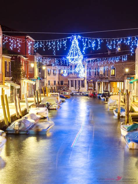 venice canals christmas lights matteo colombo travel photography canal with christmas