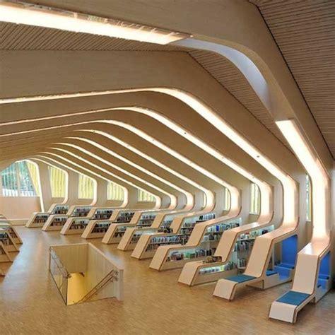 library design norwegian vennesla library designed as a modern retreat