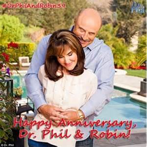dr phil reveals the secrets to his and robin mcgraw happy marriage daily mail