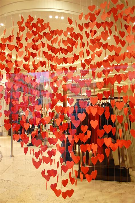 booth design for valentines banana republic s valentine love colour centrepiece with