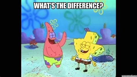 What S Different About what s the difference