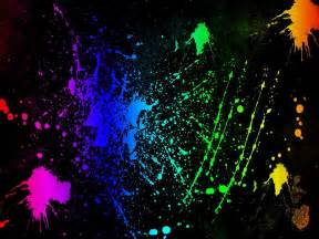 neon colors neon colors rock images splatter hd wallpaper and