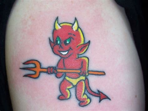 small devil tattoos related keywords