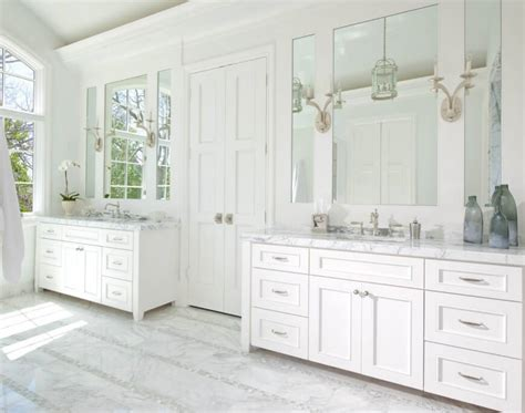 Ellen Grasso Creates Elegant Interior For Stately Dallas Bathroom Mirrors Dallas