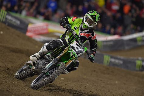 monster energy ama motocross monster energy kawasaki scoring high at supercross season