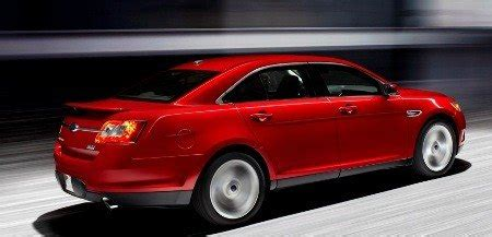 2010 ford sho the sleeper has awakened auto design tech 2010 ford taurus sho announced