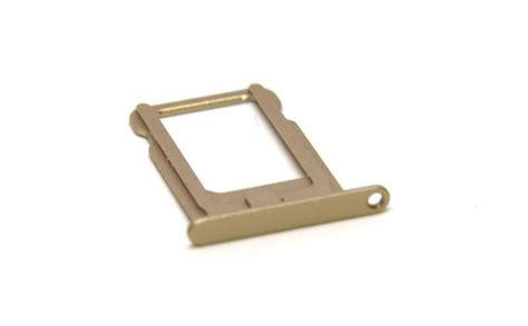 Iphone 6 47 Simcard Tray iphone 5s sim card tray replacement gold wephoneparts