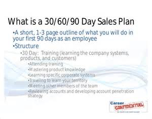 90 day sales plan template 16 30 60 90 day plan template free sle