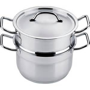 Farberware classic stainless steel 3 quart covered stack n steam
