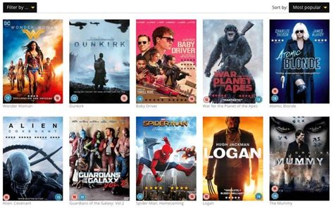 lovefilm dvd alternatives to lovefilm dvd by mail subscription uk