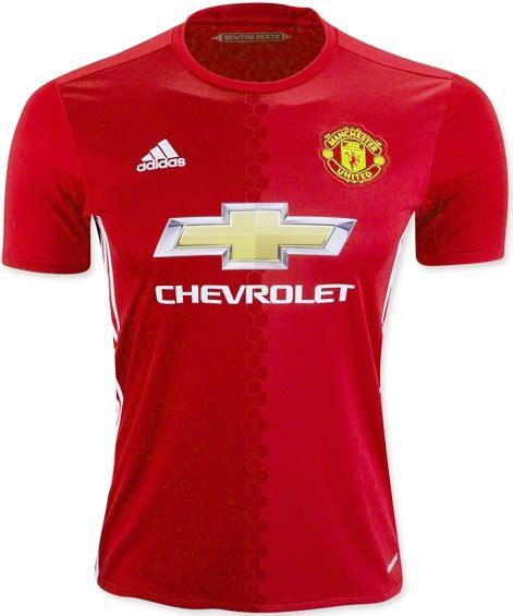 Jersey Manchester United Sleeve 2017 2018 Grade Ori jersey bola manchester united home 2016 2017 jersey bola