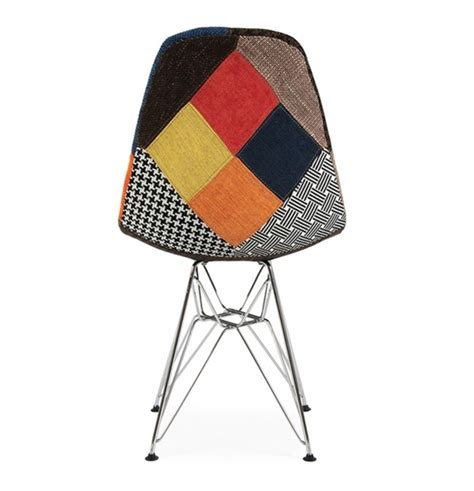 Patchwork Style - chaise dsr patchwork style eames secret design