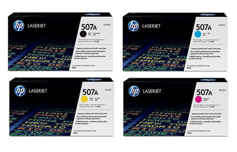 Toner Ce401a Ce402a Ce403a 507a Color original ce400a ce401a ce402a ce403a toner for hp