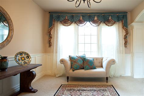 Dining Room Drapery Ideas curtain cute living room valances for your home