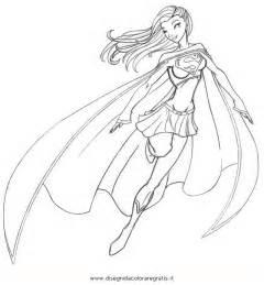 coloriage supergirl