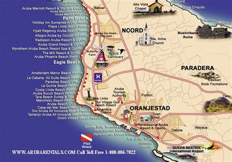 aruba eagle resort map aruba resort map mappery