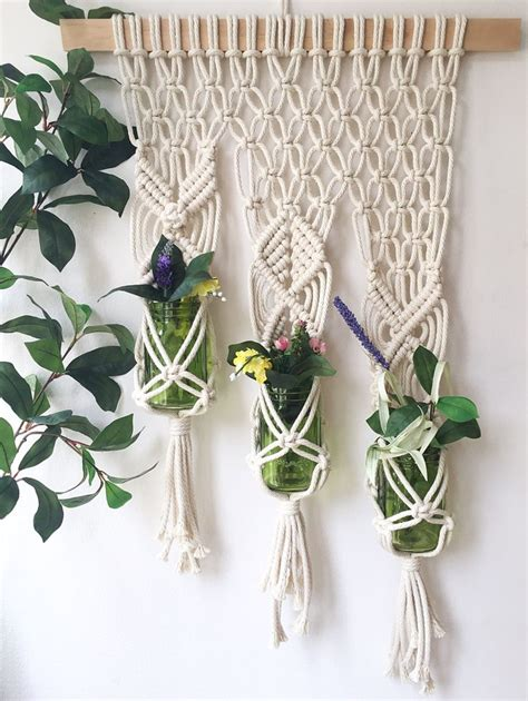 Macrame Hanging Plants - 25 best ideas about macrame plant hangers on