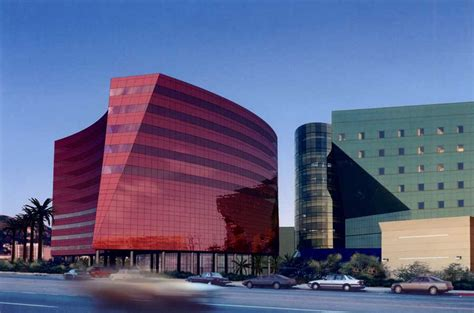design center los angeles red building pacific design center los angeles e architect