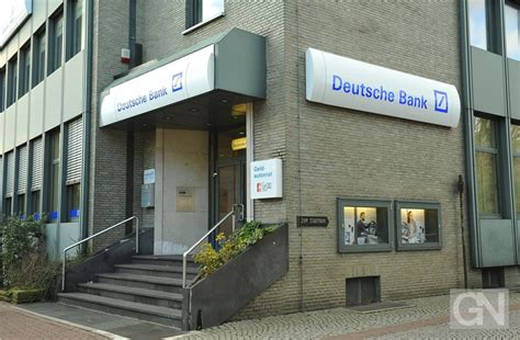 Deutsche Bank Schlie 223 T Filiale In Nordhorn