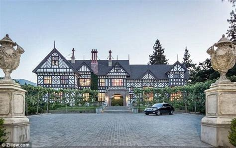 Cliff May Homes Inside The 27million Tudor Mansion In Silicon Valley That