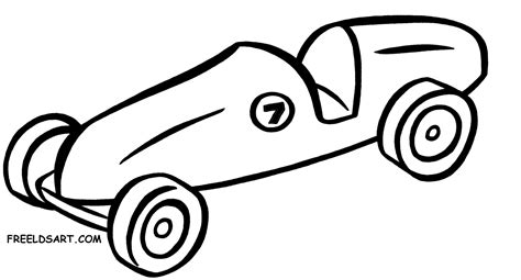 coloring pages of derby cars derby car clipart 65