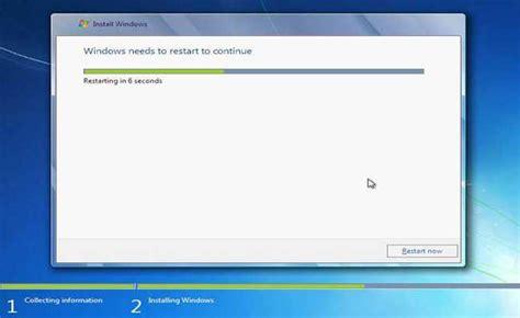 tutorial instal windows 7 menggunakan flashdisk tutorial cara install windows 7 dengan flashdisk