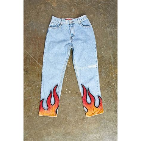 Baggy Flami forever21 repurposed levis pant 78 liked on