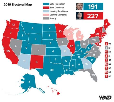 what color is democrat see wnd s color counter coup electoral map