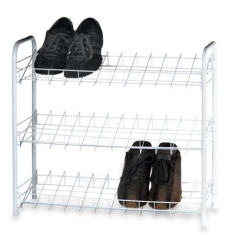 Shower Shoes Bed Bath And Beyond by Buy Shoe Rack Shelves From Bed Bath Beyond