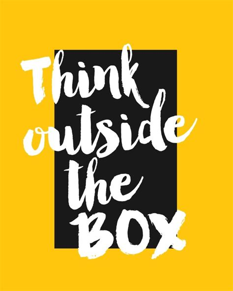 Think Outside Of The Box think outside the box khabza career portal